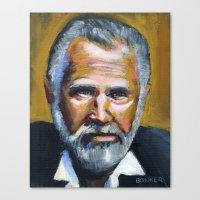 The Most Interesting Man… Canvas Print