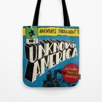 Unknown America Comics #… Tote Bag
