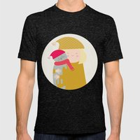 Cat Lady Mens Fitted Tee Tri-Black SMALL