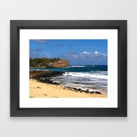Carte Blanche Framed Art Print