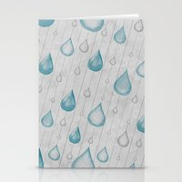 Spring Showers Stationery Cards