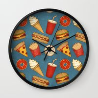 Fast Food Wall Clock