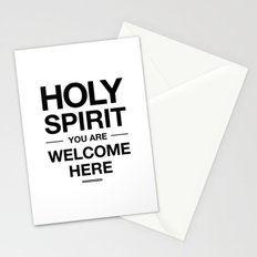 Holy Spirit You Are Welcome Here Stationery Cards