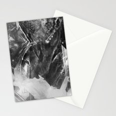 Black Crystal Stationery Cards