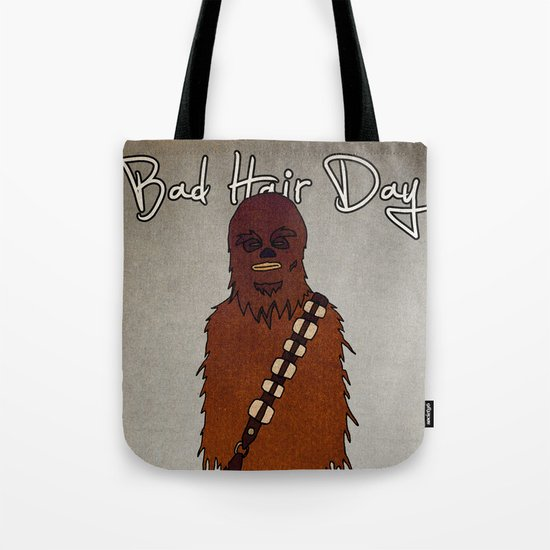 bad hair day no:3 / Chewbacca  Tote Bag