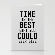 Gift Of Time Stationery Cards
