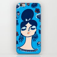 Diamonds And Pearls In Y… iPhone & iPod Skin