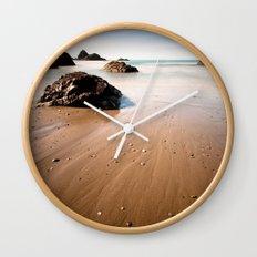 beach. Wall Clock