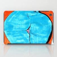 blue butt iPad Case