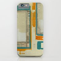 Mid Century Modern Abstract iPhone 6 Slim Case