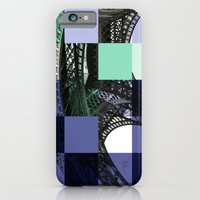 eiffel iPhone & iPod Cases featuring EIFFEL by Marcela Solana
