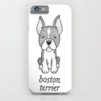 Dog Breeds: Boston Terrier iPhone 6 Slim Case