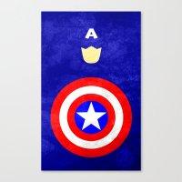 Captain America: Avengers Movie Variant Canvas Print