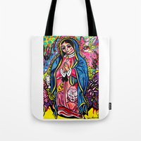 Virgin De Guadalupe Tote Bag