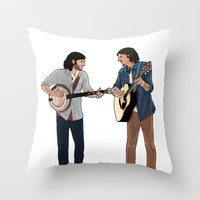 The Avett Brothers Throw Pillow
