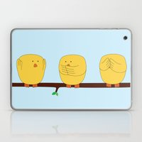 See no evil, Hear no evil, Speak no evil Laptop & iPad Skin