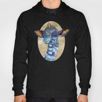 Zen Giraffe - Watercolou… Hoody