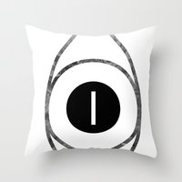 EYE Of Line Throw Pillow