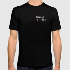 Liar Mens Fitted Tee Black SMALL