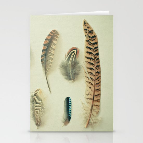 The Feather Collection Stationery Card