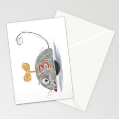Wheel Mouse Stationery Cards
