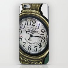 Clock iPhone & iPod Skin