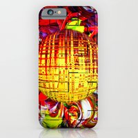 iPhone Cases featuring Abstract Perfection 24 by Walter Zettl