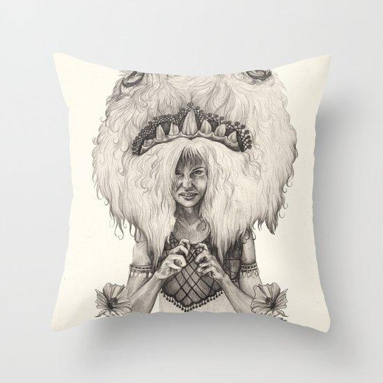 L E O  Throw Pillow