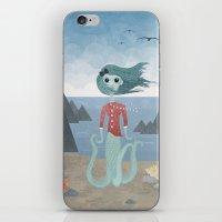 Sea Maiden iPhone & iPod Skin