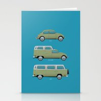 Beetle Camper Stationery Cards