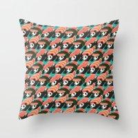 Sushi Panda Throw Pillow