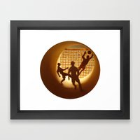 Football Framed Art Print