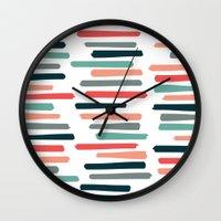 Autumn Books Wall Clock