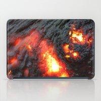 Flaming Seashell 4 iPad Case