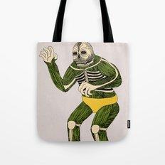 The Original Glowing Skull Tote Bag