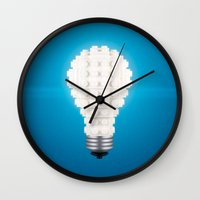 Here's An Idea! Wall Clock