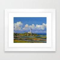Turnberry Lighthouse Framed Art Print