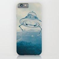 iPhone & iPod Case featuring UFO III by Grafiskanstalt