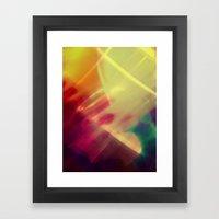 I'm A Poser. Framed Art Print