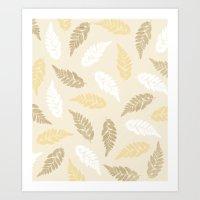 Fern Fronds Art Print