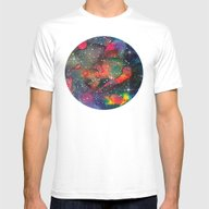 Galaxy 05 Mens Fitted Tee White SMALL