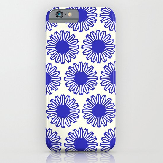 Vintage Flower Blue iPhone & iPod Case