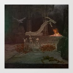 Zombie Dungeon Canvas Print