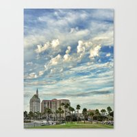 As the Sky Glides By Canvas Print