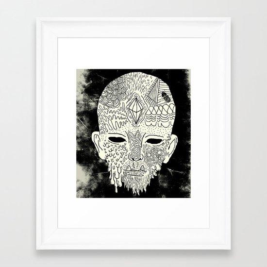 Son of Beetleman Framed Art Print