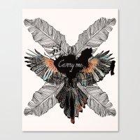 Carry Me Remix Canvas Print