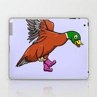 Duck Boots Laptop & iPad Skin