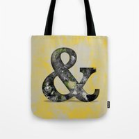 Ampersand Series - Baskerville Typeface Tote Bag