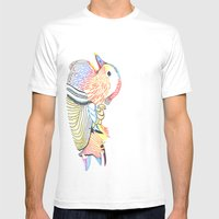 wood duck Mens Fitted Tee White SMALL