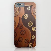iPhone & iPod Case featuring Vases/abstract by maggs326